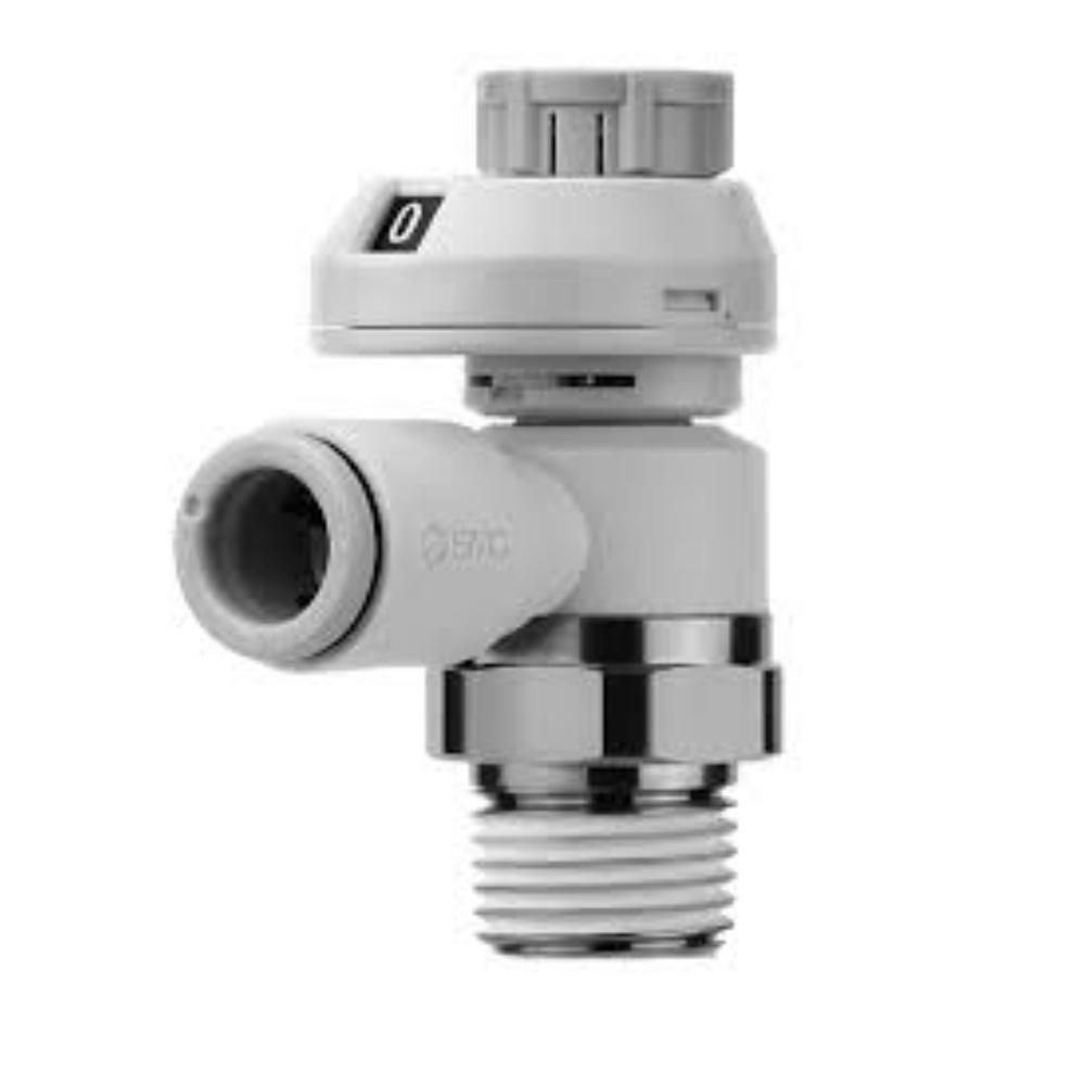 AS2201FS-02-08S   Дроссель с обратным клапаном, R1/4