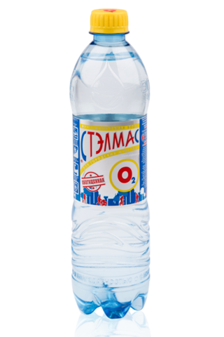Мин Вода Stelmas О2 негаз 0,6л