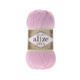 Пряжа Alize Diva 291 светло-розовый