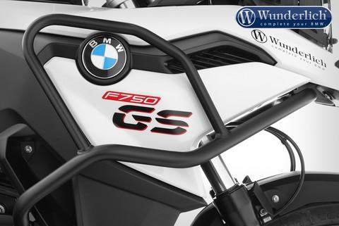 Дуги защиты бака  для BMW F 750 GS, черные
