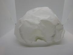 Чехол белый на каску