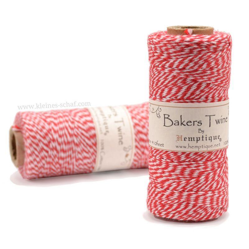Шпагат Bakers Twine красный