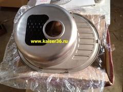 Кухонная мойка врезная из нержавеющей стали Kaiser KSS-5745 R (2)