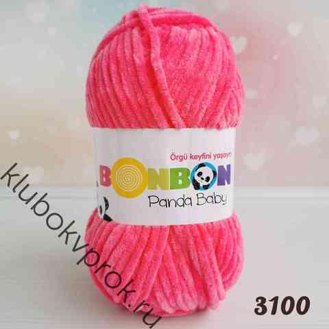 BONBON PANDA BABY 3100, Малиновый
