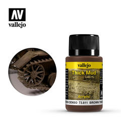 Weathering Effects 40ml. Brown Thick Mud