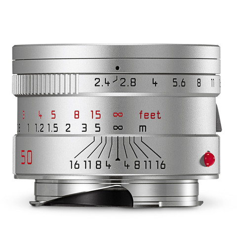 Leica Summarit-M 50mm f/2.4 ASPH Silver