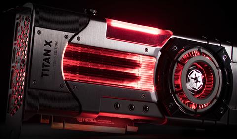 Видеокарта Nvidia Titan XP Star Wars Galactic Empire