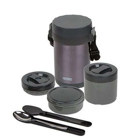 Термос для еды многофункциональный Thermos JBG-1800 Food Jar (1,8 литра), черный