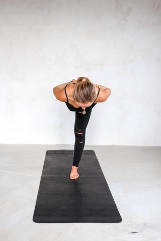 Каучуковый йога коврик Mandala Pro 185*68*0,2-4,5 см
