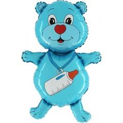 "Фигура ""Голубой мишка"""