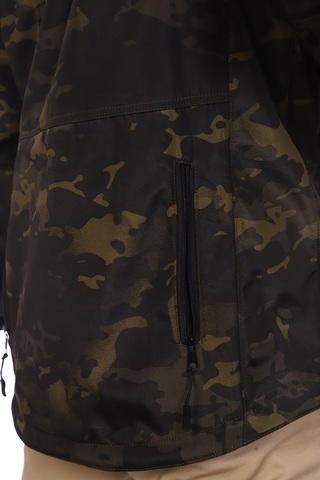 Куртка Демисезонная Беркут Черный Мультикам