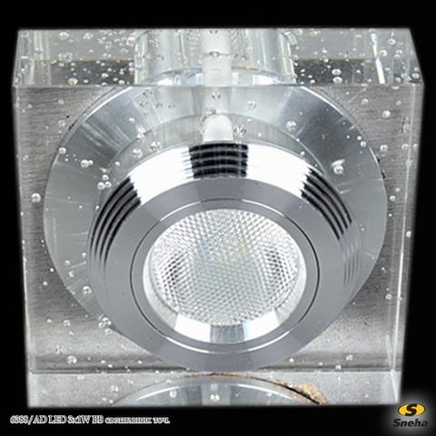 6388/AD LED 3x1W BB светильник точ.