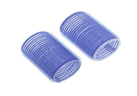 Бигуди 6 шт, диаметр 40 мм (пластик, липучка)