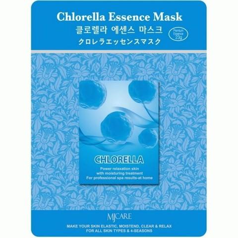 Тканевая маска с экстрактом хлореллы Mijin Cosmetic MJ Care Chlorella Essence Mask