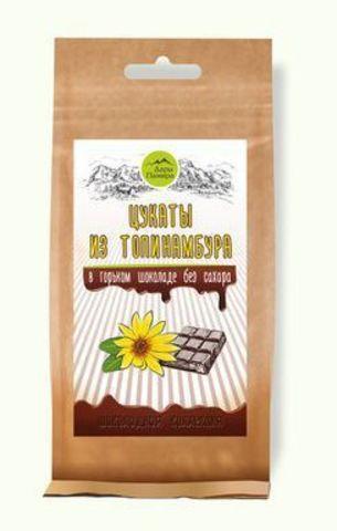 Дары Памира цукаты из топинамбура с горьком шоколаде 100 гр