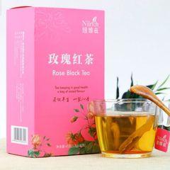 Черный чай с розой Nilrich 1.5г*30 пакетов