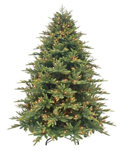 Triumph tree ель Королевская Премиум FULL RE (с лампами) 2,15 м зеленая