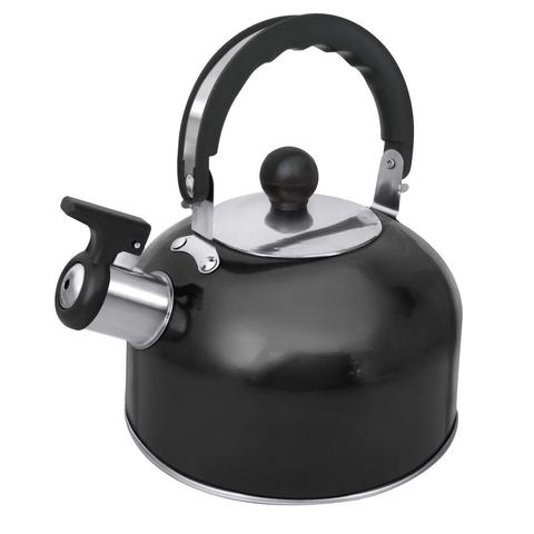 Чайник со свистком HOME ELEMENT HE-WK1602 черный жемчуг