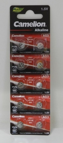 Батарейка Camelion AG03/392A Alkaline BL10