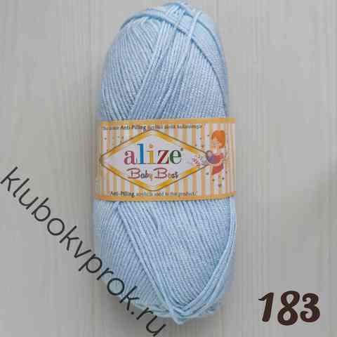 ALIZE BABY BEST 183, Светлый голубой