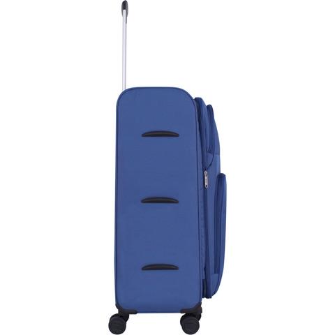 Чемодан Bagland Валенсия большой 83 л. синий (003799127)