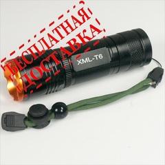 Светодиодный фонарь UltraFire CREE XML T6 2100 люмен (комплект №4)