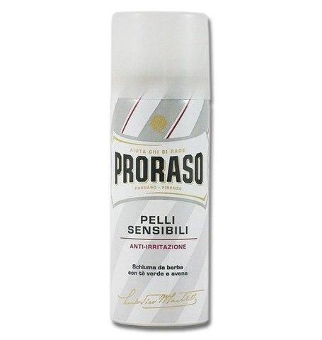 Пена для бритья PRORASO WHITE SHAVING FOAM 300 ml