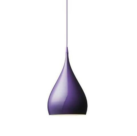 Подвесной светильник копия Spinning BH1 by Benjamin Hubert (фиолетовый)