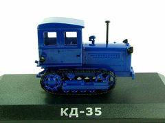 Модель Трактор №15 КД-35 (история, люди, машины)