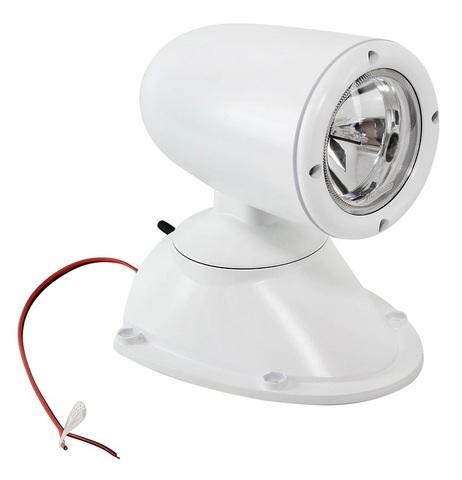 Прожектор стационарный ксеноновый, с беспроводным пультом ДУ, белый (серия 981)