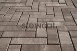 Тротуарная плитка STEINGOT Паркет 240х80х60 (ТРАВЕРТИН)