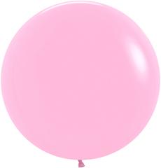 S 24''/60см, Пастель, Розовый (009), 1 шт.