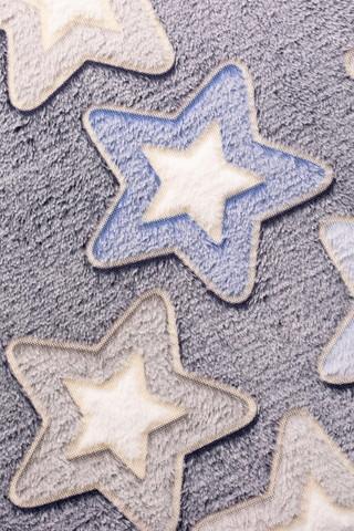 Плед с рукавами Gekoko «Светящиеся Звезды» неоновый 4