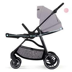Коляска прогулочная Kinderkraft Vesto Grey