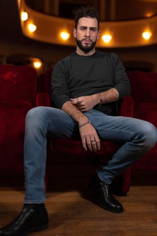 Alessandro Luppi Джемпер с эффектом меланж из тонкой шерсти