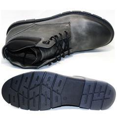 Серые зимние ботинки Ikoc 3620-3 S