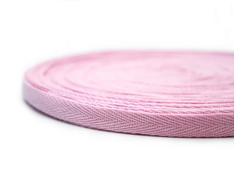 Лента киперная,1 см,розовая