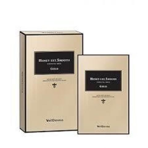 WELLDERMA Honey Ext Smooth Essential Mask-Gold (10ea)