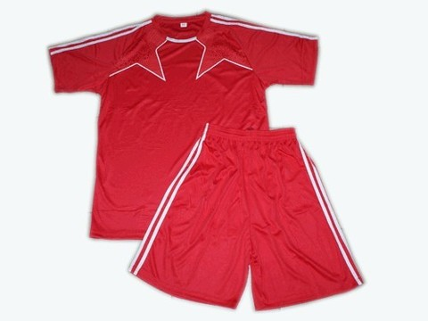 Форма футбольная. Цвет красный. Размер 32. :(Ке162-32):
