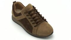 Коричневые кроссовки из натурального нубука
