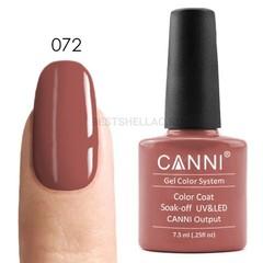 Canni, Гель-лак № 072, 7,3 мл
