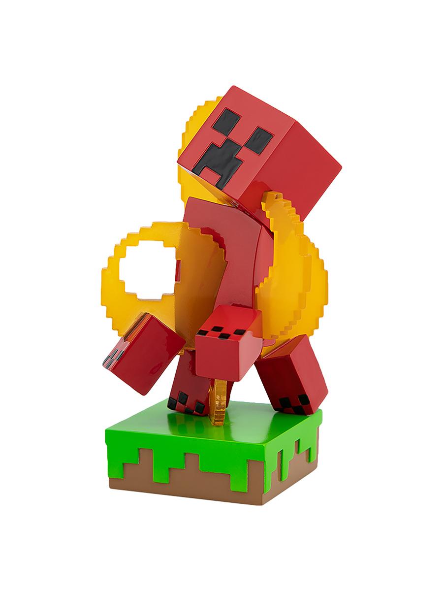 Фигурка Minecraft Adventure Figures серия 3 Creeper in Fire 10см