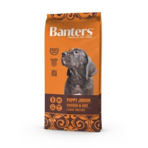 Banters Puppy Junior Large - 3 кг