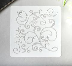 Трафарет для творчества пластиковый, 1 шт.
