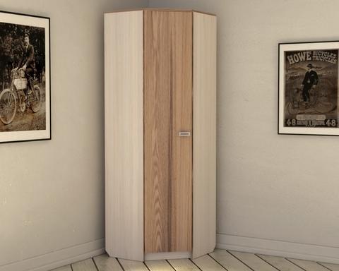Шкаф КВИНС угловой с зеркалом /703*2100*703/ левый