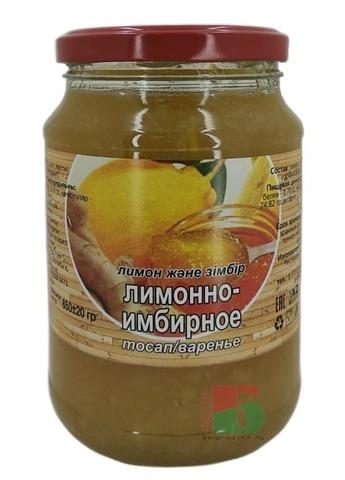 Варенье Лимонно-имбирное 850г. Айс Фуд Азия Казахстан