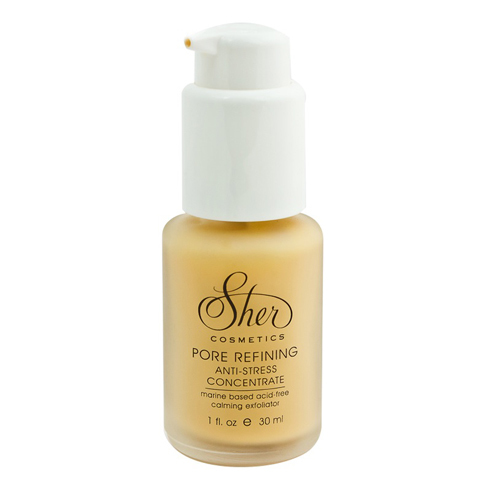 Sher Cosmetics: Антистрессовый концентрат для лица (Pure refining Anti-Stress Concentrate), 30мл