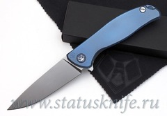 Нож Широгоров Флиппер 95 S30V синее анодирование
