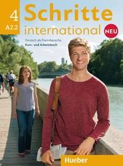 Schritte international Neu 4 A2.2 Kursbuch+Arbeitsbuch mit CD zum AB