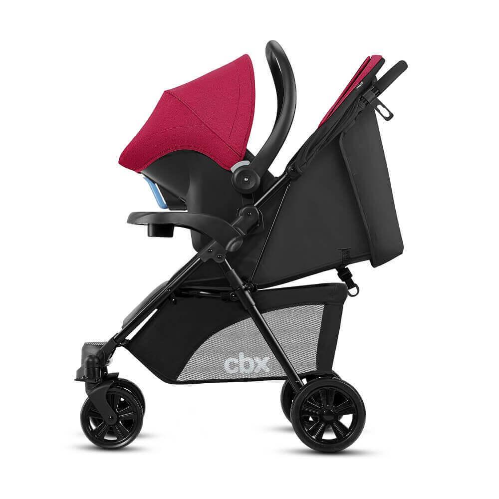 CBX by Cybex Woya (коляска + автокресло 0+) Детская коляска 2 в 1 CBX by Cybex Woya Crunchy Red CBX_18_y090_WOYA_RED_WITHSHIMA_0598_DERV_HQ.jpg